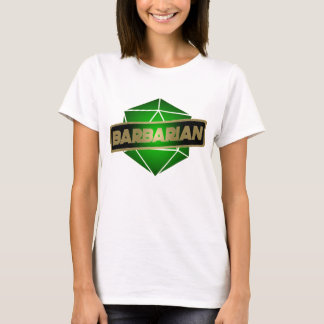 D20 Star Barbarian T-Shirt