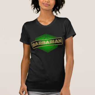 D20 Star Barbarian T-Shirt