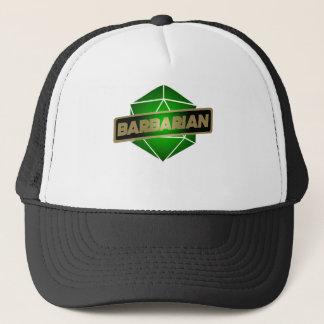 D20 Star Barbarian Trucker Hat