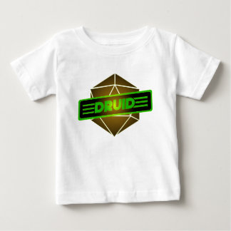 D20 Star Druid Baby T-Shirt