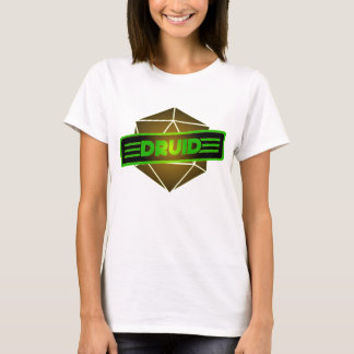 D20 Star Druid T-Shirt