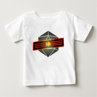 D20 Star Dungeon Master Baby T-Shirt