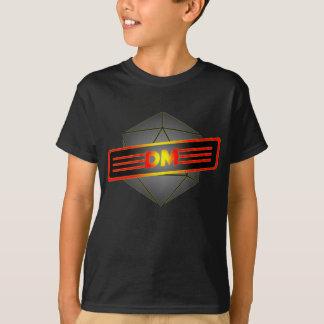 D20 Star Dungeon Master T-Shirt