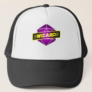 D20 Star Wizard Trucker Hat