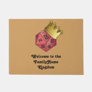 D20 Welcome to the Kingdom Doormat