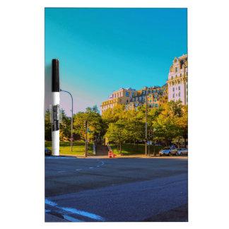 D.C. Street Dry Erase Board