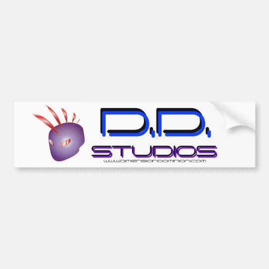 D.D. studios sticker 2