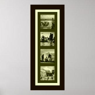 D-Day 65th Anniversary Four Plex Poster