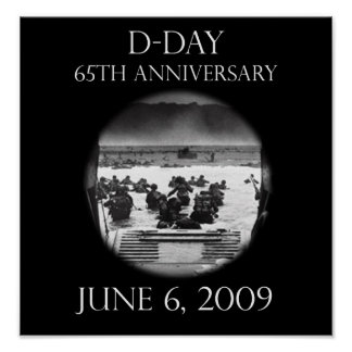 D-Day 65th Anniversary Poster