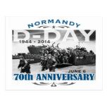 D-Day 70th Anniversary Battle of Normandy Post Card