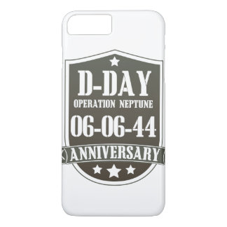 D-Day Anniversary Badge iPhone 7 Plus Case