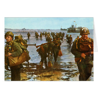 D-Day Note CArd