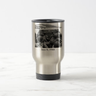 D-Day Soldiers In A Higgins Boat Travel Mug