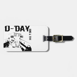 D-DAY TAGS FOR LUGGAGE