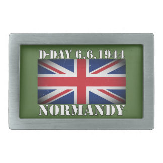 D-Day UK Flag 6th June 1944 Belt Buckle