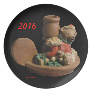 D.ELF BROTHER BEAR  KY.BLUEGRASS ELF 2016 PLATE