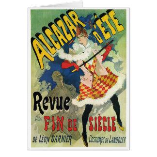 d Été d Alcazar - Revue Fin de Siècle Jules Chére Carte