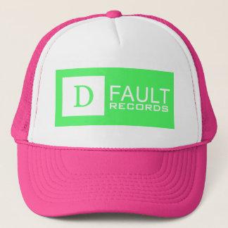 D-Fault Records Neon Trucker Hat