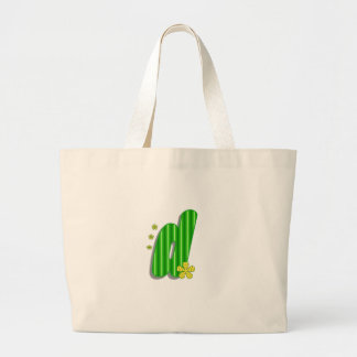 d green monogram large tote bag
