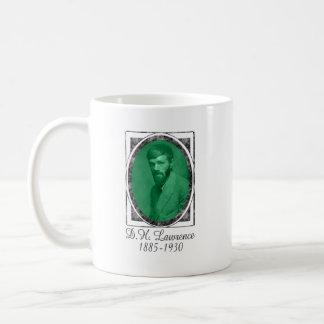D.H. Lawrence Classic White Coffee Mug