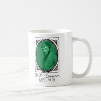 D.H. Lawrence Classic White Coffee Mug