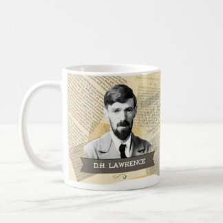 D.H. Lawrence Historical Mug