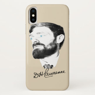 D H Lawrence iPhone X Case
