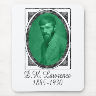 D.H. Lawrence Mouse Pad