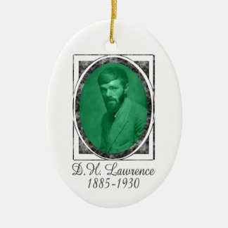 D.H. Lawrence Ornament