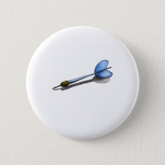 D is for Dart 2 Inch Round Button