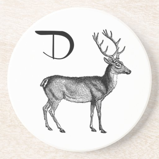 D is for Deer Coasters