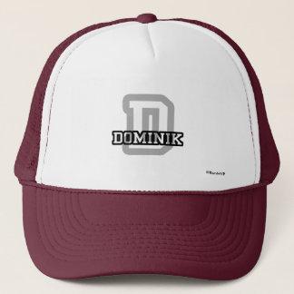 D is for Dominik Trucker Hat
