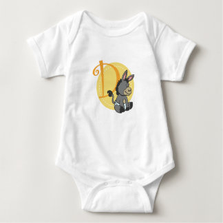 D is for Donkey Baby Bodysuit