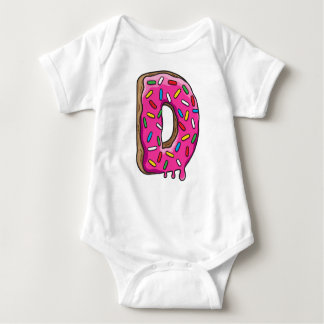 D is for Donut Baby Bodysuit
