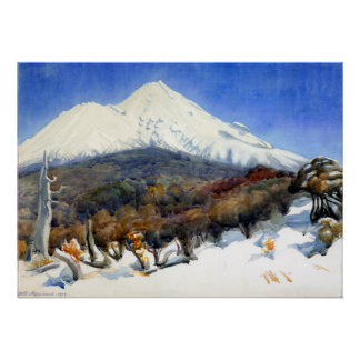 D. K. Richmond Mount Egmont Poster