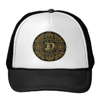 D Monogram Classic Best viewed large See notes Trucker Hat