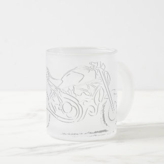 D Monster Lover Frosted Glass Coffee Mug