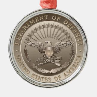 D.O.D Government Emblem Metal Ornament