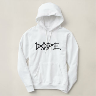 D.O.P.E. EMBROIDERED HOODIE