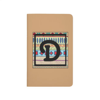 D-Tribal Monogrammed Personal Journal