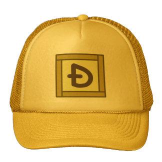D with a Slash Dogecoin CS Square Golds Hat