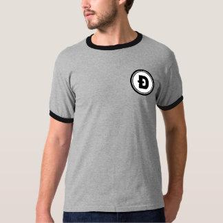 D with a Slash Dogecoin Multi Round Pocket Shirt