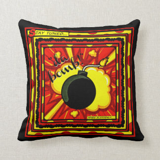 Da Bomb Throw Pillow