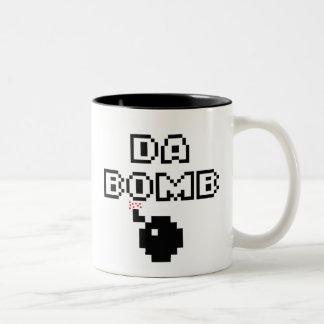 Da Bomb Two-Tone Coffee Mug