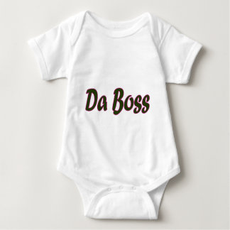 Da Boss Baby Bodysuit