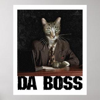 Da Boss Poster