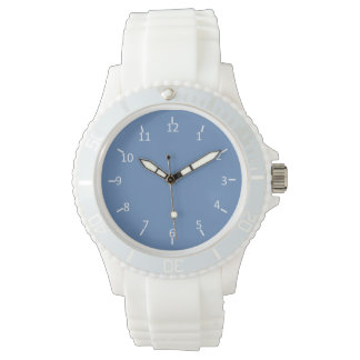 Da Powdah Blue and White 1st and 10 Watch