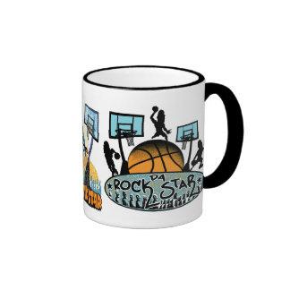 Da Rock Star Big Rapa All Allstars Ringer Coffee Mug