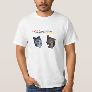 DA_Sane Husky & Insane Shepherd T-Shirt