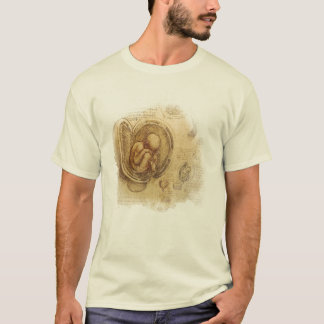 da Vinci -- Embryo Sketch T-Shirt
